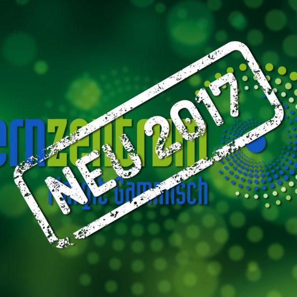 Grün und blau ins neue Jahr