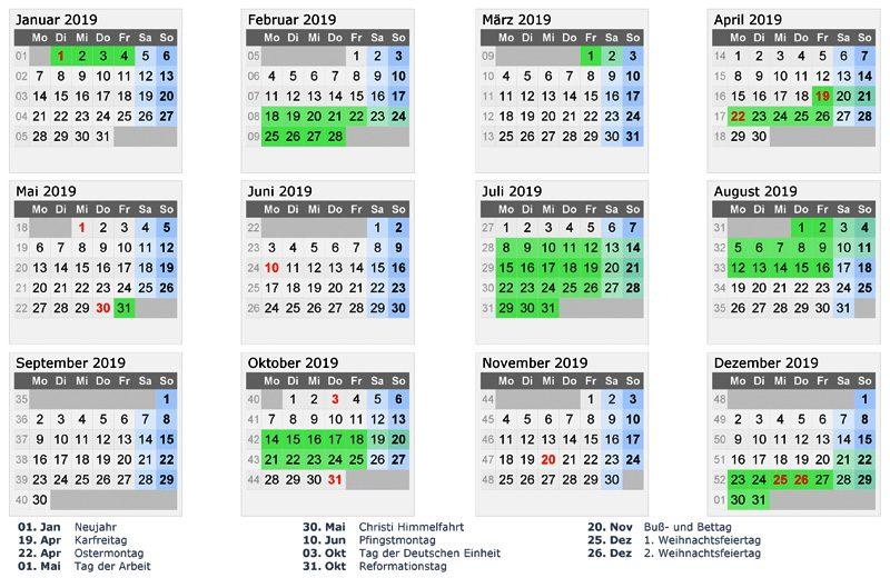 ferienkalender-2019