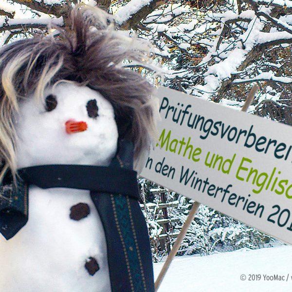 Prüfungsvorbereitung Mathe und Englisch in den Winterferien